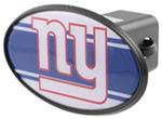 "New York Giants 2"" NFL Trailer Hitch Receiver Cover - ABS Plastic"