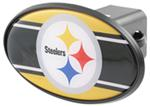 "Pittsburgh Steelers 2"" NFL Trailer Hitch Receiver Cover - ABS Plastic"