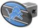 "Detroit Lions 2"" NFL Trailer Hitch Receiver Cover - ABS Plastic"