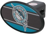 "Florida Marlins 2"" MLB Trailer Hitch Receiver Cover - ABS Plastic"