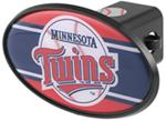 "Minnesota Twins 2"" MLB Trailer Hitch Receiver Cover - ABS Plastic"