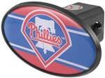 "Philadelphia Phillies 2"" MLB Trailer Hitch Receiver Cover - ABS Plastic"