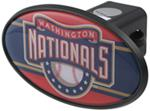 "Washington Nationals 2"" MLB Trailer Hitch Receiver Cover - ABS Plastic"