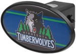 "Minnesota Timberwolves 2"" NBA Trailer Hitch Receiver Cover - ABS Plastic"