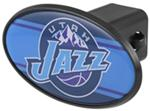 "Utah Jazz 2"" NBA Trailer Hitch Receiver Cover - ABS Plastic"