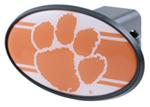 "Clemson Tigers 2"" NCAA Trailer Hitch Receiver Cover - ABS Plastic"