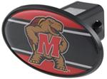 "Maryland Terrapins 2"" NCAA Trailer Hitch Receiver Cover - ABS Plastic"