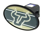 "South Florida Bulls 2"" NCAA Trailer Hitch Receiver Cover - ABS Plastic"