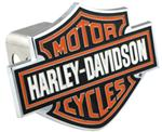 "Harley-Davidson Motorcycles Trailer Hitch Cover for 2"" Trailer Hitches"