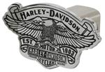 "Harley-Davidson Eagle on Vintage Logo with Est. 1903 Banner 2"" Trailer Hitch Cover"
