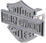 "Harley-Davidson 3D Chrome Logo 1-1/4"" Trailer Hitch Cover"