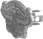 "Harley-Davidson Eagle on Vintage Logo with Est. 1903 Banner 1-1/4"" Trailer Hitch Cover"