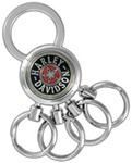 Harley-Davidson Multi-Ring Key Chain - Fat Boy