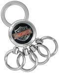 Harley-Davidson Multi-Ring Key Chain - Bar & Shield