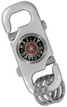 Harley-Davidson Multi-Ring Key Chain with Belt Loop Clasp - Fat Boy