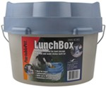 PortablePET LunchBox Travel Food Container with Built-In Dishes - 36-Cup Capacity