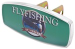 "HitchMate Fly-Fishing Trailer Hitch Receiver Cover - 1-1/4"" or 2"" Hitch - Aluminum"