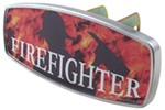 "HitchMate Firefighter Trailer Hitch Receiver Cover - 1-1/4"" or 2"" Hitch - Aluminum"