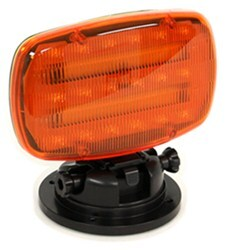 Custer Adjustable Emergency Light w/ Magnetic Base - LED - Amber