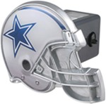 "Dallas Cowboys Helmet 2"" NFL Trailer Hitch Receiver Cover"