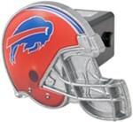 "Buffalo Bills Helmet 2"" NFL Trailer Hitch Receiver Cover"
