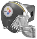 "Pittsburgh Steelers Helmet 2"" NFL Trailer Hitch Receiver Cover"