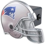 "New England Patriots Helmet 2"" NFL Trailer Hitch Receiver Cover"