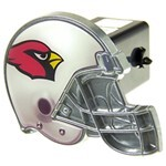 "Arizona Cardinals Helmet 2"" NFL Trailer Hitch Receiver Cover"