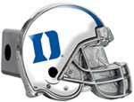 "Duke Blue Devils Helmet 2"" NCAA Trailer Hitch Receiver Cover"