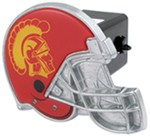 "USC Trojans Helmet 2"" NCAA Trailer Hitch Receiver Cover"