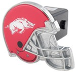 "Arkansas Razorbacks Helmet 2"" NCAA Trailer Hitch Receiver Cover"