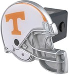 "Tennessee Volunteers Helmet 2"" NCAA Trailer Hitch Receiver Cover"