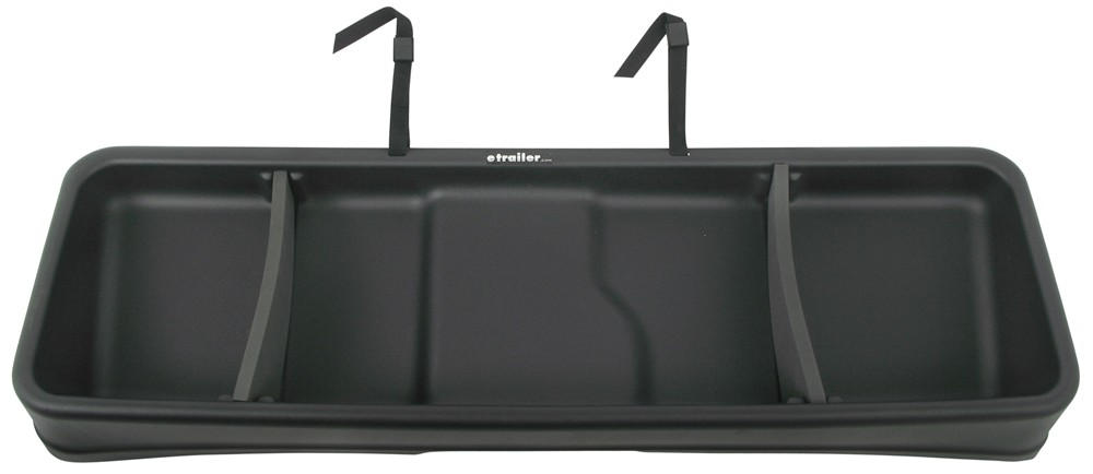 vehicle organizer rear under seat organizer cargo box black husky liners. Black Bedroom Furniture Sets. Home Design Ideas