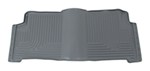 Husky Liners WeatherBeater Custom Auto Floor Liner - 2nd Row Rear - Gray