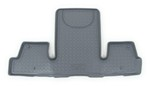 Husky Liners Classic Custom Auto Floor Liner - 3rd Row Rear - Gray