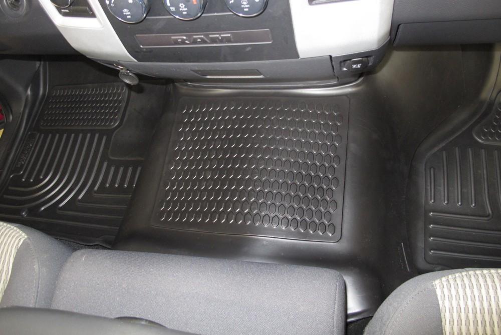 Husky Liners Weatherbeater Custom Auto Floor Liner Front