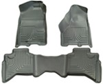 Husky Liners WeatherBeater Custom Auto Floor Liners - Front and Rear - Gray