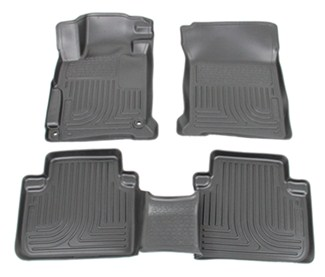 Floor mats by husky liners for 2013 accord hl98481 for 1992 honda accord floor mats