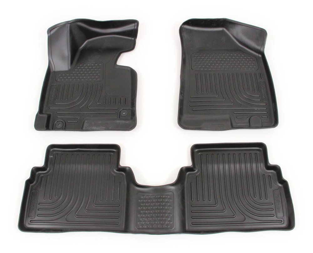 Rubber floor mats sears - Husky Liners Weatherbeater Custom Auto Floor Liners Front And Rear