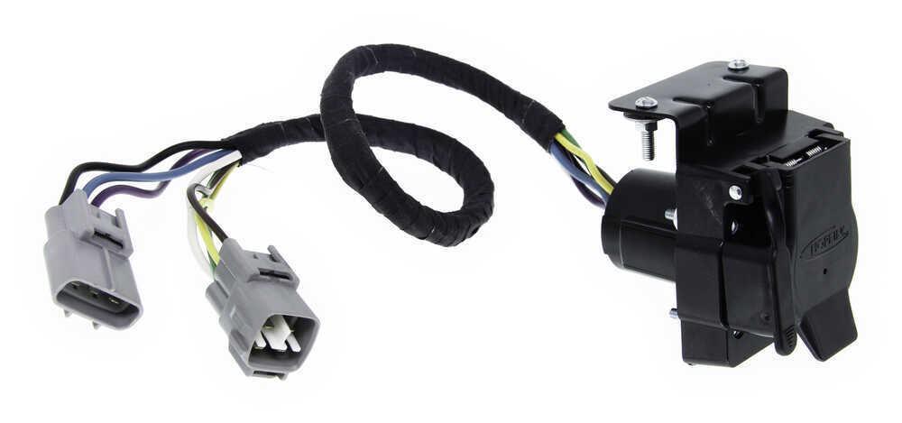 towbar wiring diagram 7 pin on toyota trailer wiring harness adapter