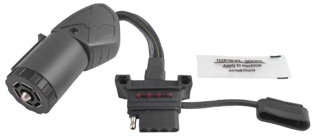 hopkins endurance flex trailer connector adapter w  led