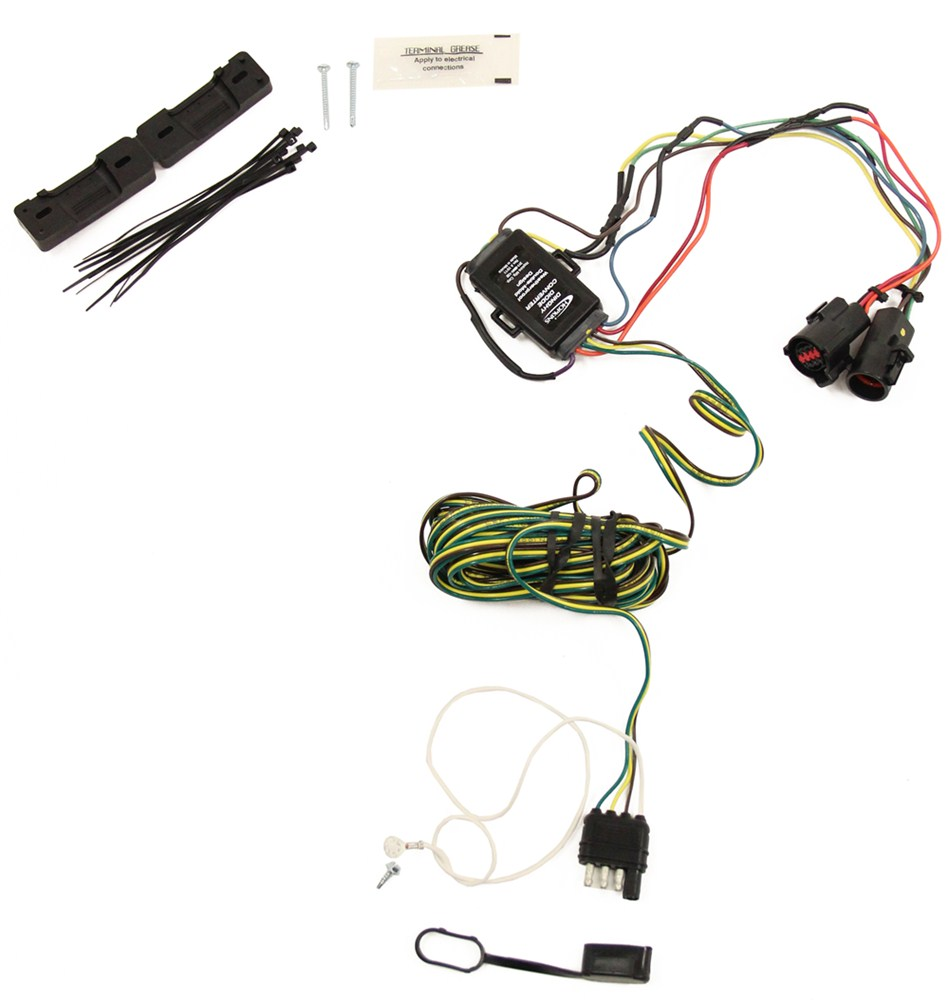 Tow Bar Lights Wiring Diagrams Truck Light Hopkins Custom Tail Kit For Towed Vehicles Diagram