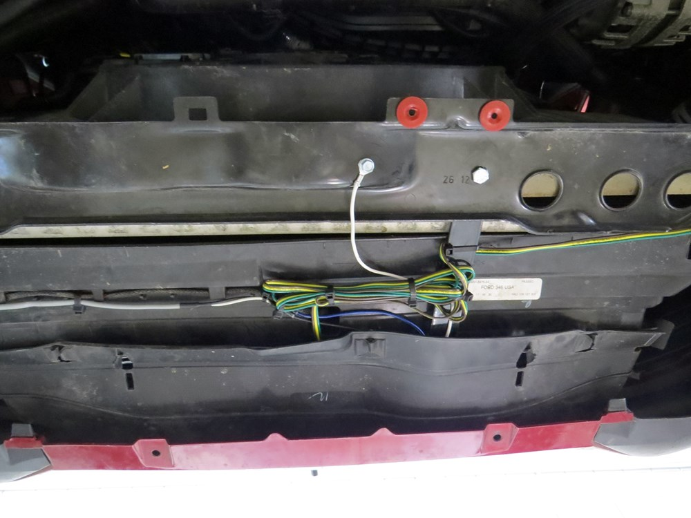 hopkins custom tail light wiring kit for towed vehicles ... wiring tow bar ford focus #8