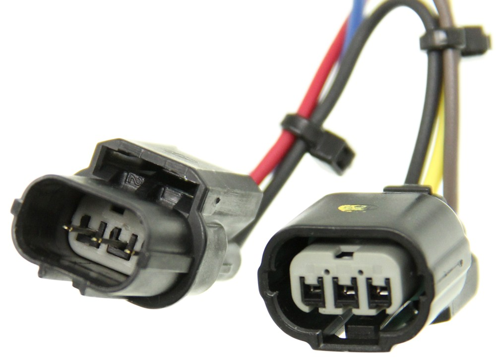 hopkins custom tail light wiring kit for towed vehicles