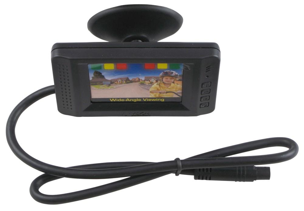 Hopkins Rear View Camera With Backup Sensors 2 1 2 Quot Lcd