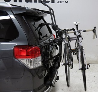 Hollywood Racks Over-the-Top Bike Rack on Vehicle