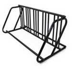 Hollywood Racks Bicycle Parking Stand - Single Sided or Double Sided - 5 or 10 Bikes