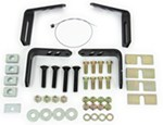 Husky Universal Mounting Bracket Kit for 5th Wheel Trailer Hitches