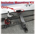 Concealed Mounting Kit for RodBuckle Retractable Fishing Rod Tie-Down Strap