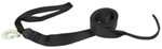 "BoatBuckle PWC Winch Strap with Hook and Soft Tie - Tail End - 2"" x 15' - 3,500 lbs"